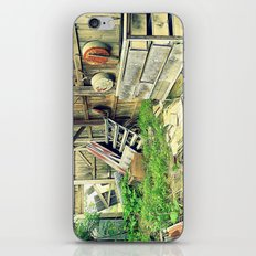 Nature Taking Over iPhone & iPod Skin