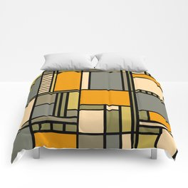 Frank Lloyd Wright Inspired Art Comforters