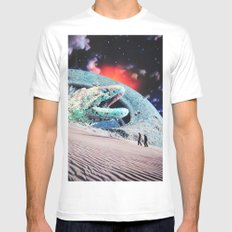 Sandworms of Saturn Mens Fitted Tee White MEDIUM