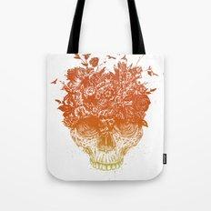 Summer skull Tote Bag