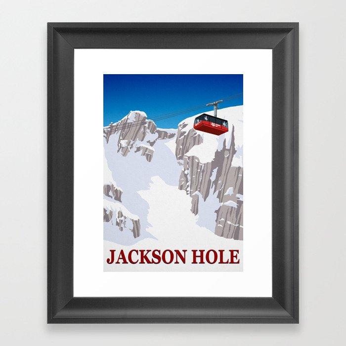 Jackson Hole Gerahmter Kunstdruck