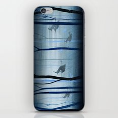 Witches Flying Low Through the Woods iPhone & iPod Skin
