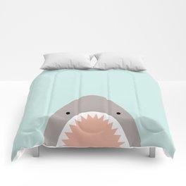 shark attack Comforters