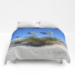White Sands Dune With Soap Yucca Comforters