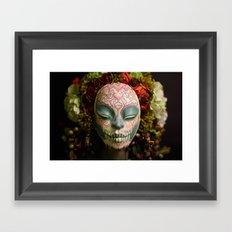 Acorn Harvest Muertita Detail Framed Art Print