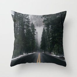 Forest Way Throw Pillow