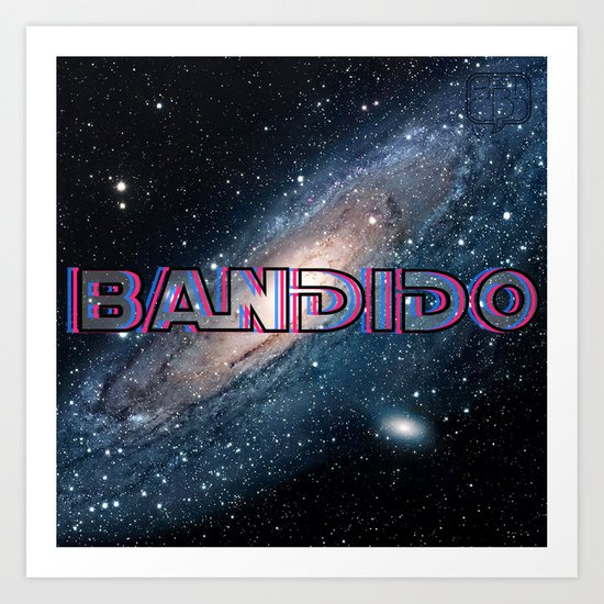 Bandido: Outlaw from Outer Space Art Print