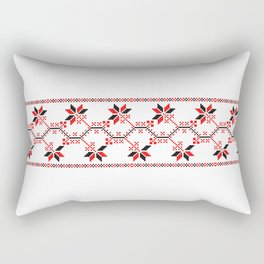 ukraine folk motifs Rectangular Pillow