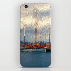Waiting to sail iPhone & iPod Skin