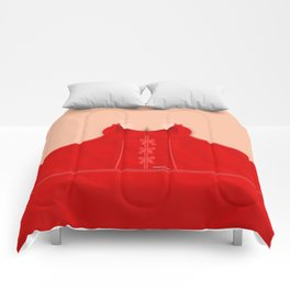 Lingeramas - Sexy Red Lingerie Top Comforters