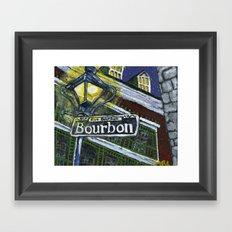 Rue Bourbon Framed Art Print