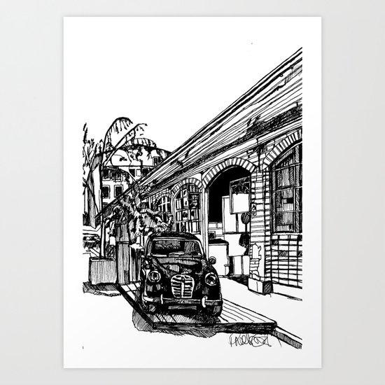 LX Factory 2 Art Print
