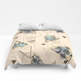 Pretty Succulents #society6 #decor #buyart Comforters