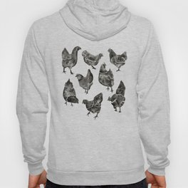 Chicken Flock Hoody