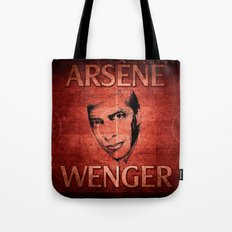 Arsene Wegner Tote Bag