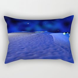 Mission to the Frozen Moon Rectangular Pillow