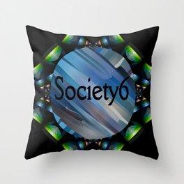 Socirty6 Mirror Throw Pillow