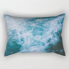 White Water Rectangular Pillow