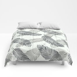 Black Feathers, Pattern Comforters