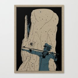 Moby dick Canvas Print