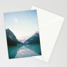 Mountain Lake Reflection Stationery Cards