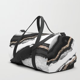 Agate Glitter Glam #2 #gem #decor #art #society6 Duffle Bag