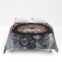 Steampunk clock Comforters