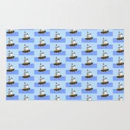 Pirate Ship Rug