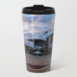 McLane Stadium Clouds Metal Travel Mug