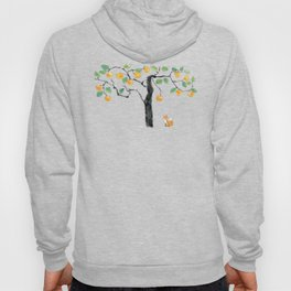 A Fox under the Orange Tree Hoody
