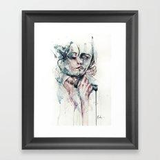 forever yours freckles Framed Art Print