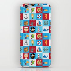 Ahoy There! iPhone & iPod Skin