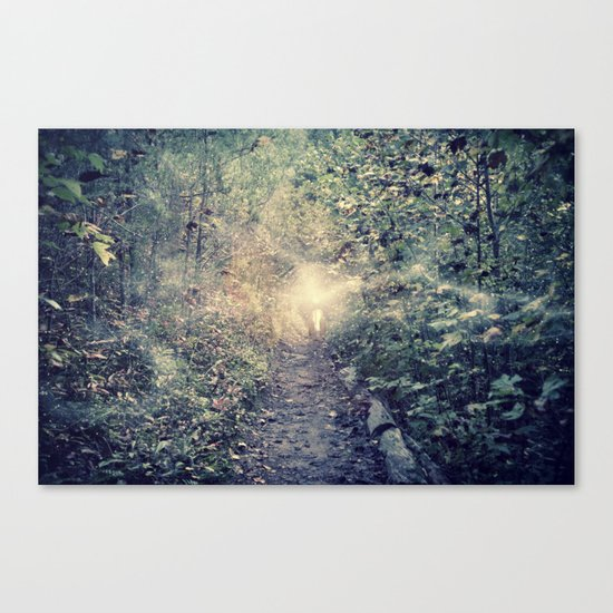 we must protect the light Canvas Print