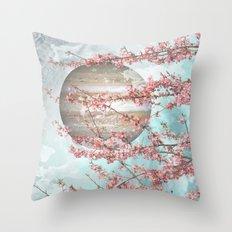 Spring Jupiter Throw Pillow