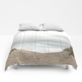Sand_Beach_grasses_Sky Comforters
