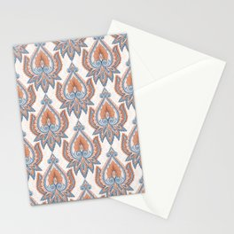 Ethnic Floral Pattern Stationery Cards