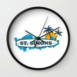 St. Simons Island - Georgia. Wall Clock