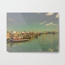Punta del Este Port View Metal Print