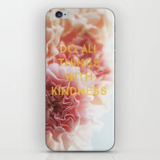 With Kindness iPhone & iPod Skin
