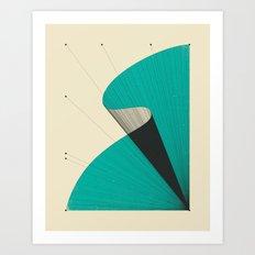 DEJA VU Art Print