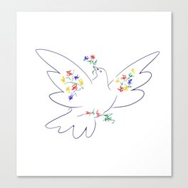 Picasso's Dove Canvas Print