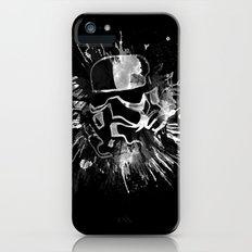Storm Trooper (black) - Star Wars iPhone (5, 5s) Slim Case