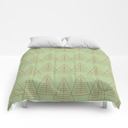 Winter Hoidays Pattern #10 Comforters