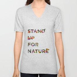 Stand Up For Nature Unisex V-Neck