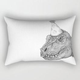 Party Dinosaur Rectangular Pillow
