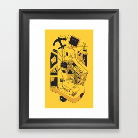 In Too Deep Framed Art Print