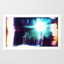 Flashlight Art Print