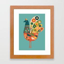 Century Hen Framed Art Print