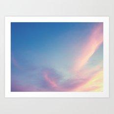 Softly Art Print