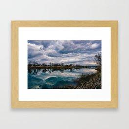 Waco Reflection Framed Art Print